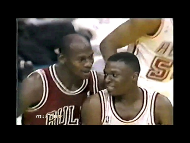 Prime Michael Jordan vs Rookie Sherman Douglas - That's All Right Son!