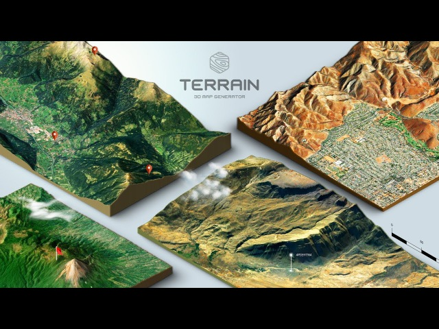How to create a 3D Terrain with Google Maps and height maps in Photoshop 3D Map Generator Terrain