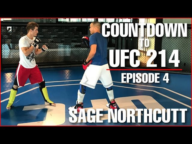 UFC 214 Countdown - UFC Head Quarters Visit Training - Sage Northcutt Ep. 4