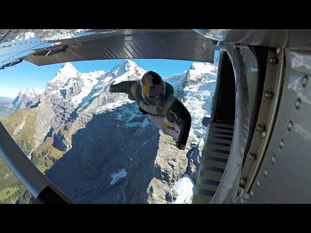 Вингсьют пилоты прыгнули с горы и влетели в самолёт новости