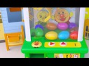 Crane Game with Lightning McQueen Learn Colors in Kinder Surprise eggs Сars Toys For Kids