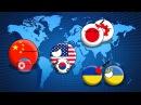 COUNTRYBALLS Будущее Мира 1 сезон 2 серия Война Китая и США Комминтерн
