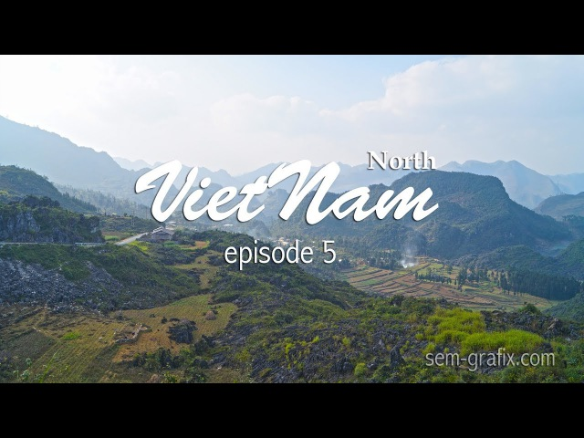 Riding north Vietnam episode 5. Cao Bang - Dong van (Ha Giang)