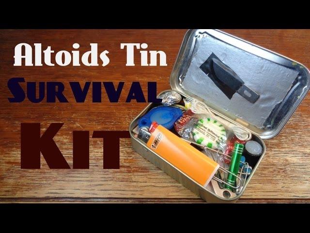Altoids Tin Survival/EDC Kit