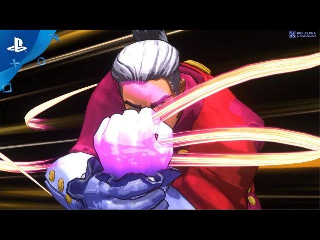 Fantasy Strike – PSX 2017: Gameplay Trailer   PS4