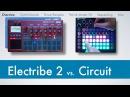 Novation Circuit vs Korg Electribe 2 Sampler E2 E2S