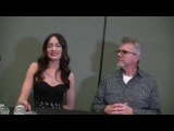 WonderCon 2017 Interview Mallory Jansen &amp Jeff Bell (Agents Of S.H.I.E.L.D.)