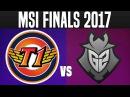 SKT vs G2 - Game 2 - MSI 2017 Final - 2017 Mid Season Invitational Finals LoL Esports