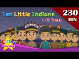 Ten Little Indians + More Number Songs  Top 50 Nursery Rhymes with lyrics  English kids video