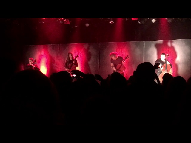 Apocalyptica LIVE 2017 - Master of Puppets- Vancouver BC - Commodore 09/23/17