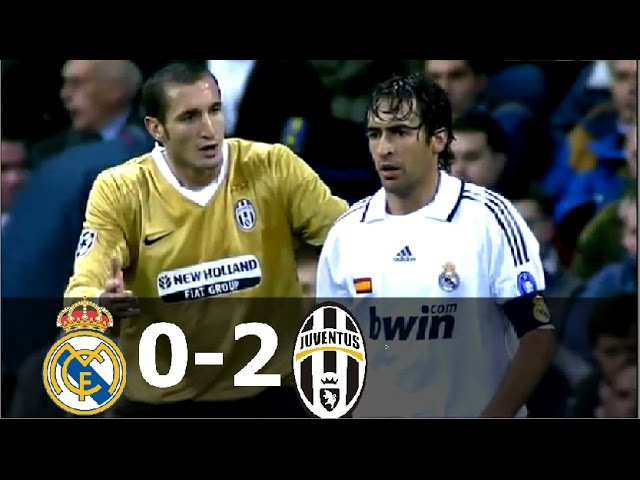 Real Madrid vs Juventus 0-2 - UCL 2008/2009 - Full Highlights HD