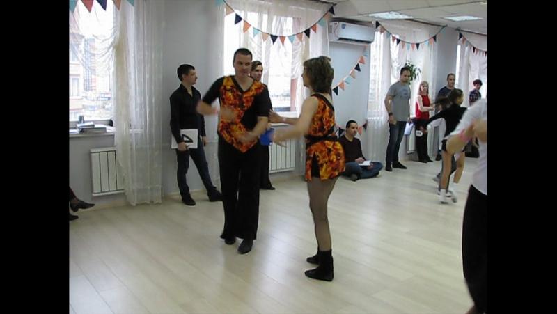 Первый в танцевальном сезоне турнир по хастлу Шаг вперед Андрей Непомнящий - Екатерина Зимовец 2 место