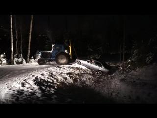 Дрифтер неудачник и пьяный тракторист (VHS Video)