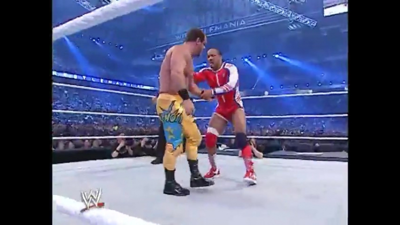 WWE WrestleMania 23 - Chris Benoit vs MVP (United States Championship)