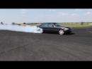 Mercedes S 600 V12 Biturbo 0-270km-h acceleration, and burnout -- KO 860