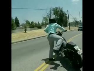 More skill riding