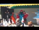 ПКиО развлекает маленьких посетителей. Квест по мотивам сказки Приключения Буратино . Финальный танец.