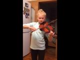 Эрика и скрипка