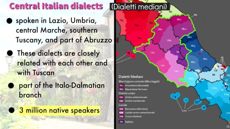 Le lingue e i dialetti italiani
