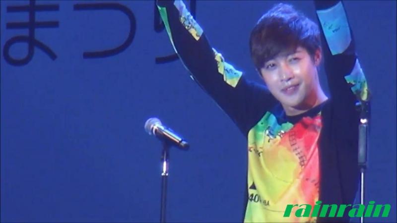 20140928 Kim Hyun Joong HEAT JAPAN KOREA Exchange Festival 2014 in Tokyo Hibiya (1)