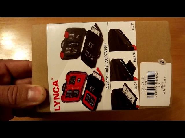 Устройство для чтения карт «LYNCA USB3.0 5Gbps Card Reader Case – BLACK» куплено на сайте GearBest.