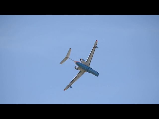 Авиашоу. Самолет-амфибия Бе-200ЧС. г. Таганрог