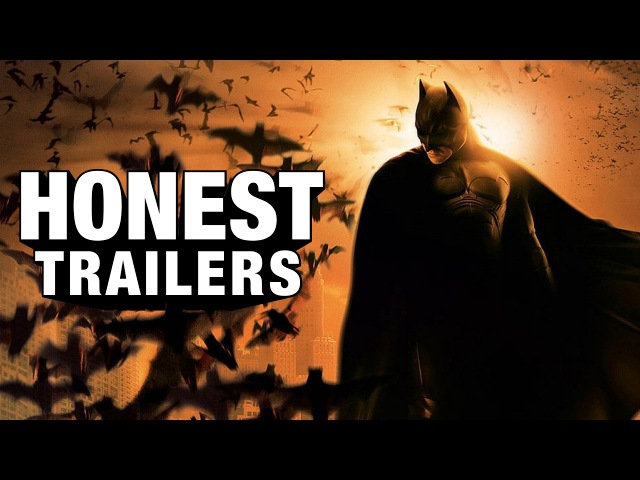 Честный трейлер Бэтмен Начало