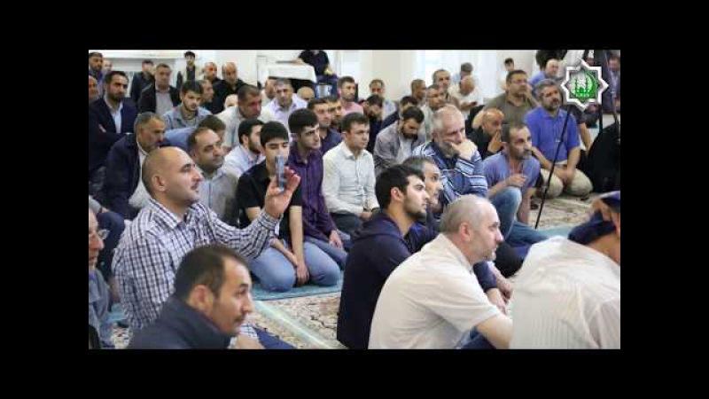 İmam Sadiq (ə) şəhadət məclisi (Moskva Əhli-Beyt İslam Cəmiyyəti 2017)