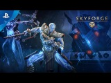 Skyforge - The Mechanoid War Release Trailer  PS4