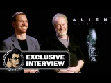 Michael Fassbender & Ridley Scott Interview - ALIEN: COVENANT (2017) sci-fi horror film