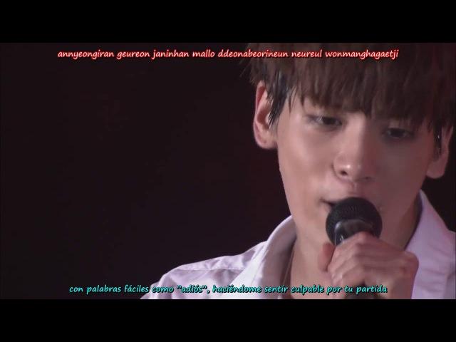 Jonghyun (SHINee) Y Si Fuera Ella/Hyeya (live sub español)