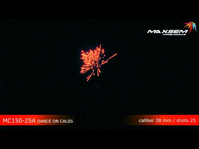 Maxsem Fireworks MC150-25A DANCE ON CALSS