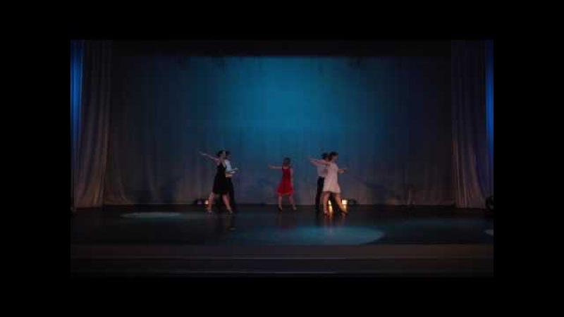 «Три недосказанных слова», педагог Серафим Салимзянов, группа Парные танцы