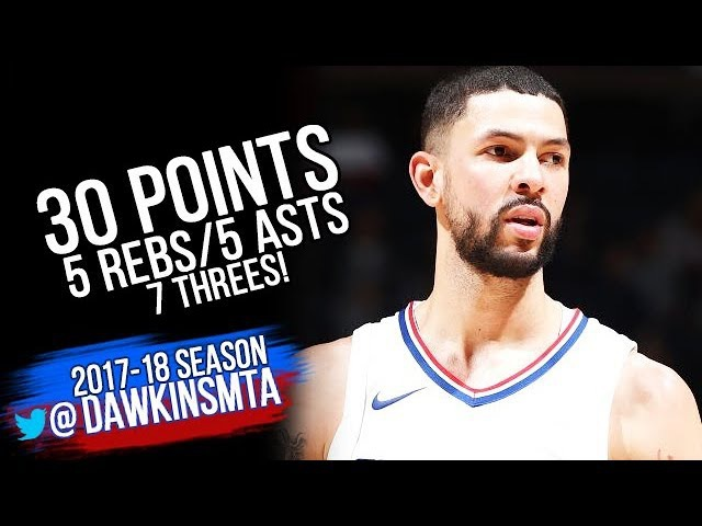 Austin Rivers Full Highlights 2017.12.03 at Timberwolves - 30 Pts, 5 Rebs, 5 Asts, 7 Threes!