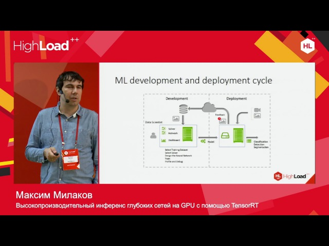 Высокопроизводительный инференс глубоких сетей на GPU с помощью TensorRT / Максим Мил...