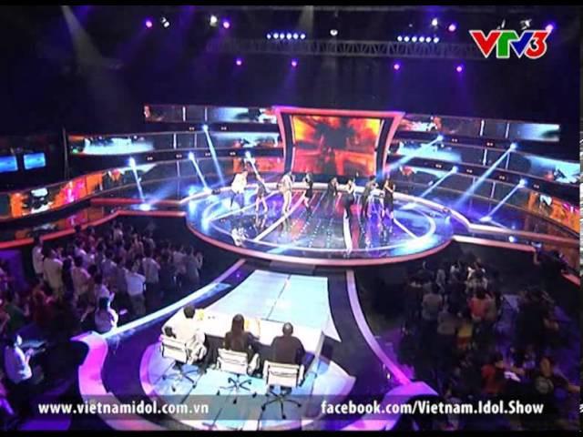 Vietnam Idol 2012 - Kết quả Gala 3 - Rain Over Me - Top 8