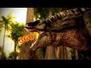 360 Degree Jurassic Dinosaur Park CGI Movie - A T-Rex Named June Google Cardboard VR