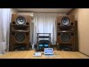 KENRICK SOUND custom made walnut stands for Mr. Mori's Rey Audio RM-8V ケンリック製レイオーディオ用特注スタンド