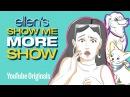 Ellen's Sketchbook Salma Hayek's Cake tastrophe
