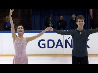 Елизавета Худайбердиева /Никита Назаров ЮГП Польша 2017