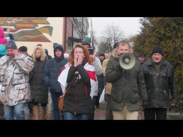 У Берасці арыштавалі арганізатараў пратэстаў   Налог на тунеядство: протесты и а...