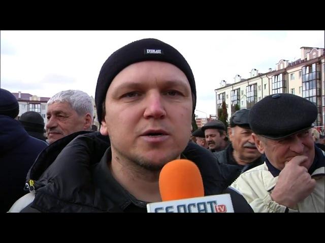 Пінск. Пратэст. Адстаўка - гэта адзінае патрабаванне | Декрет № 3. Протест в Пинске