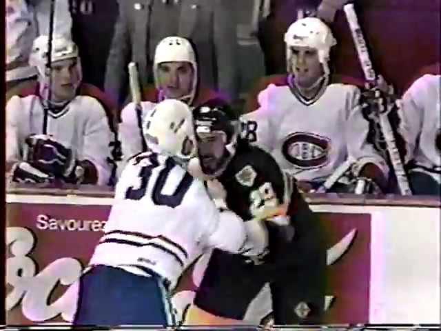 Jay Miller vs Chris Nilan Jan 8, 1986