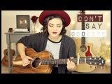 Don't Say Goodbye - Aaron Carter Cover Mackenzie Johnson