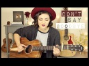 Don't Say Goodbye - Aaron Carter Cover Mackenzie Johnson