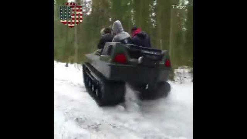 Tinger Tracked and Wheeled ATV