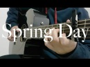 BTS - Spring Day - Cover (Fingerstyle Guitar) [FREE TABS]