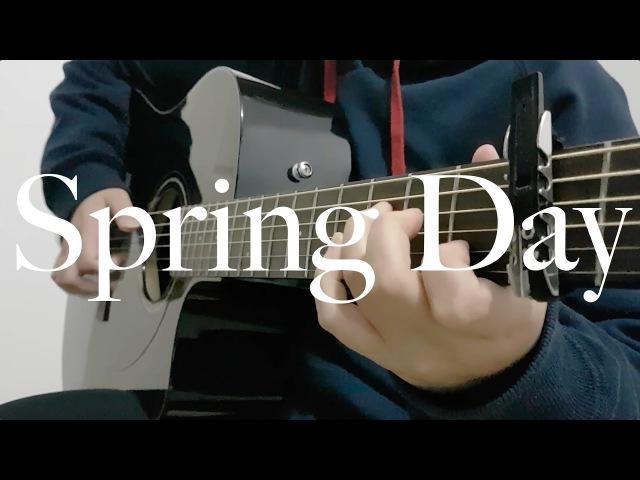 BTS - Spring Day - Cover (Fingerstyle Guitar) [FREE TABS] » Freewka.com - Смотреть онлайн в хорощем качестве