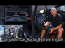 Kenwood Car Audio System Installation - Speakers, Subwoofer and Amplifier