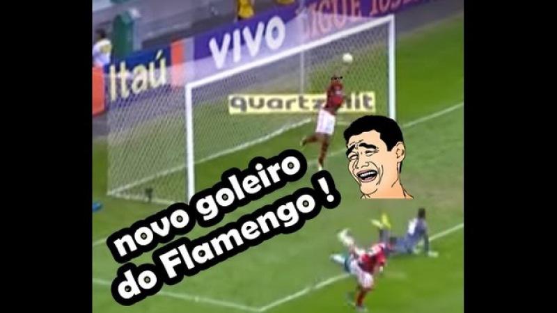 César Martins, o Novo Goleiro do Flamengo !! Narrado por Galvão Bueno !